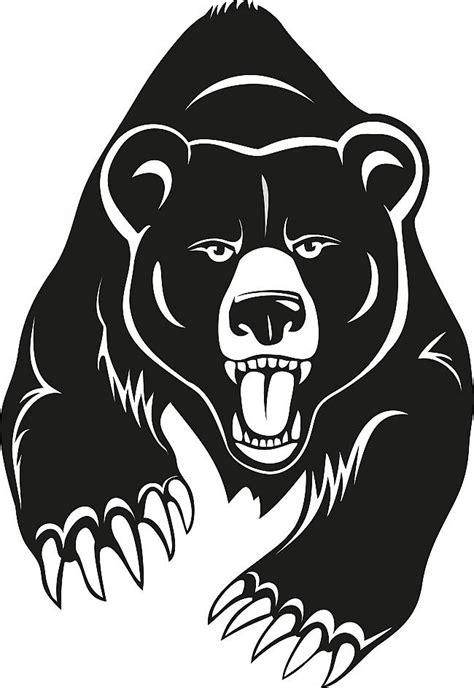 tattoo cartoon black cartoon black hunting bear tattoo design tattooimages biz