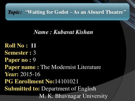 Absurd Theatre Waiting For Godot Essay by Absurd In Waiting For Godot Essay Durdgereport590 Web Fc2
