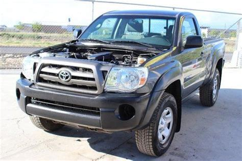 how to sell used cars 2009 toyota tacoma auto manual sell used 2009 toyota tacoma regular cab damaged salvage runs economical priced to sell in