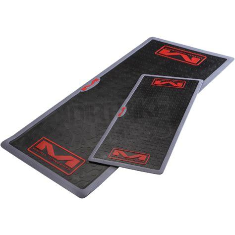 work bench mats matrix m4 work bench mat black dirtbikexpress