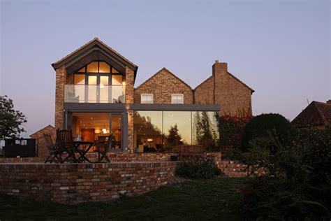 Modern Glass Addition To Otherwise Traditional Home House Designs Traditional Uk