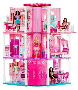 mattel barbie doll house barbie house dream doll mattel 3 story vintage furniture dreamhouse pink fab new ebay