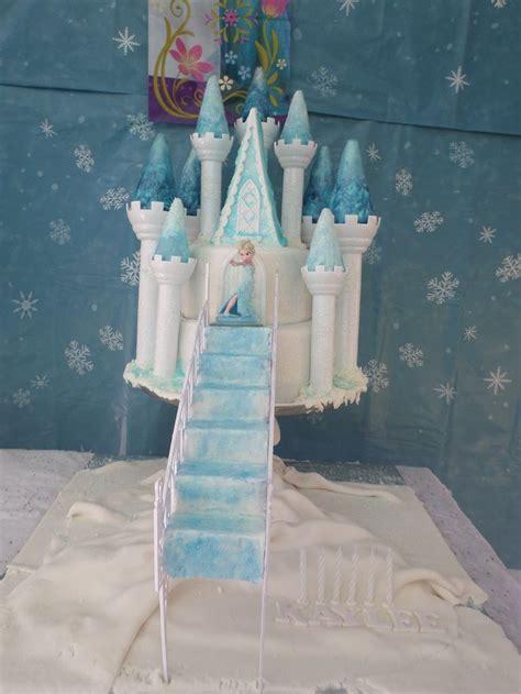 Bt1281 Gamis Frozen Blue 30 best elsa s castle cake images on frozen