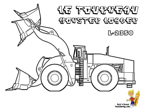 construction level colouring pages