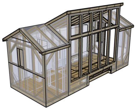 small solar home plans 8x20 solar house free downloadable tiny house plans here