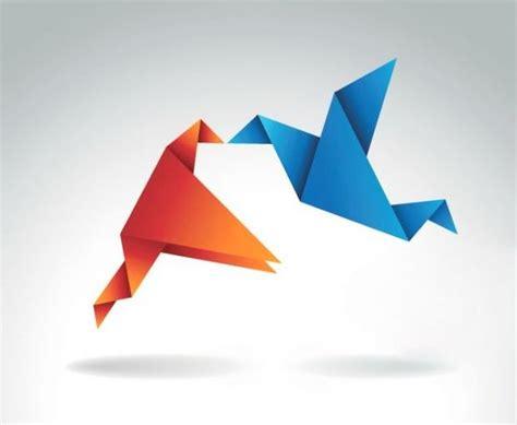 gambar membuat origami burung cara membuat origami burung terbang gambar origami