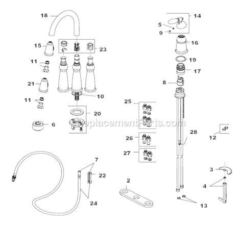 delta faucet pull out kitchen faucet parts list apps