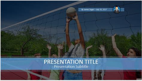 powerpoint themes volleyball free volleyball powerpoint 47369 sagefox powerpoint