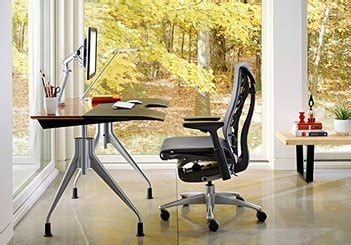 embody  aeron herman miller comparison buyers guide  desks