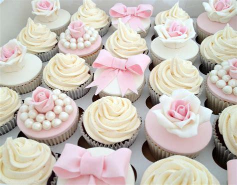 vintage pale pink wedding cupcakes a mixture of wedding