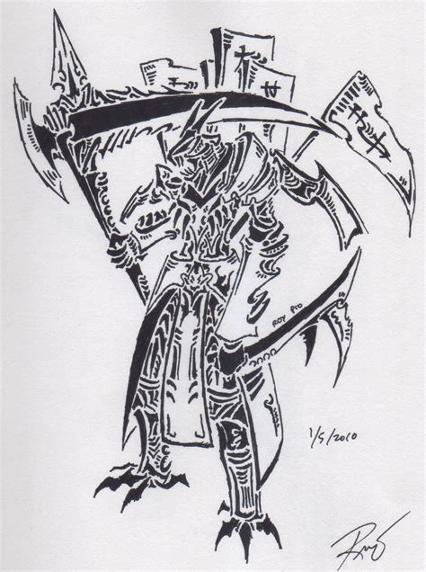 tribal demon tattoo tribal 3 by roycorleone on deviantart