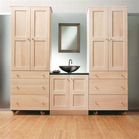 Bathroom Storage Cabinet Need More Space To Put Bath Wood Bathroom Storage Cabinet