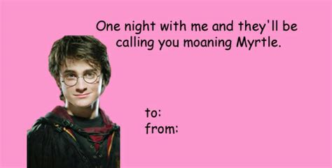 valentines harry potter harry potter valentines cards