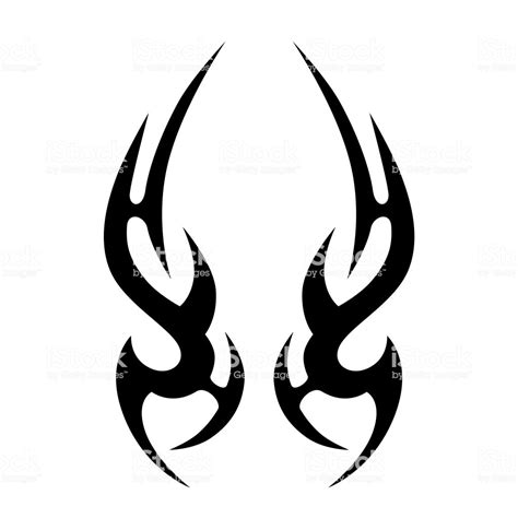 tribal tattoo vectorial tribal vector design simple tribal symbol