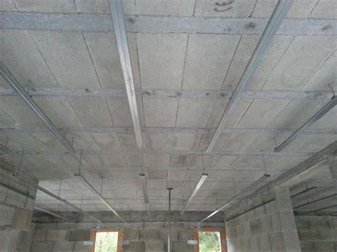 Plafond Sur Rail by Pose Placo Sur Rail Plafond