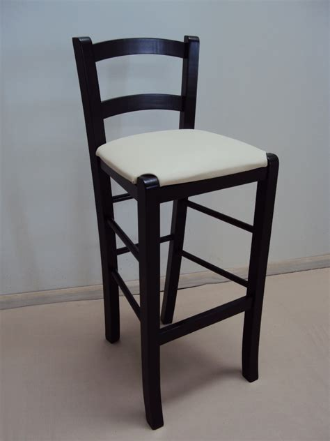 Coffee Shop Stools by Professional Wooden Stool Sifnos For Bar Restaurant Bistro