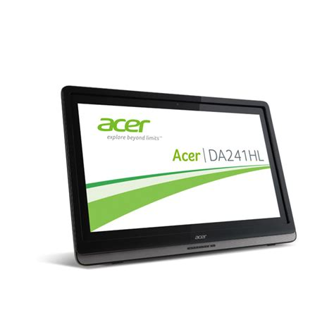 Android Acer Ram 1gb acer aspire da241hl all in one pc 61cm 24 quot touch display android nvidia tegra 3 1gb ram