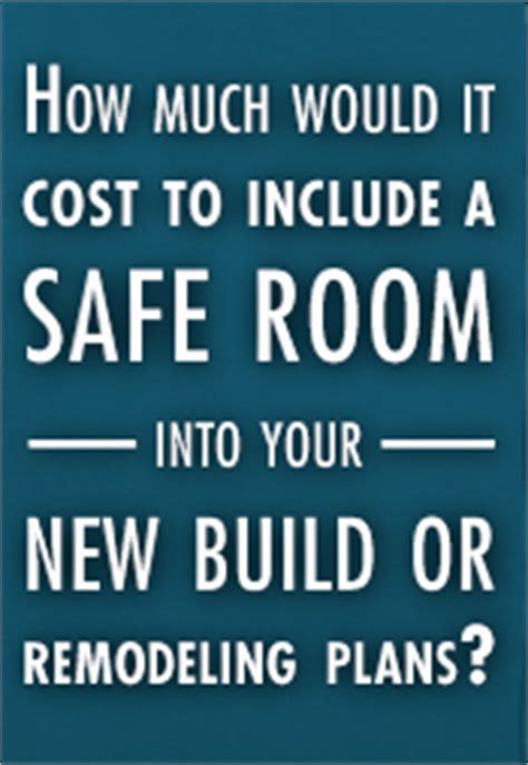 How Much Do Panic Rooms Cost by High Winds Safe Rooms