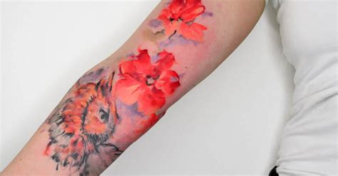 watercolor tattoo hand tattoos best watercolor tattoos for