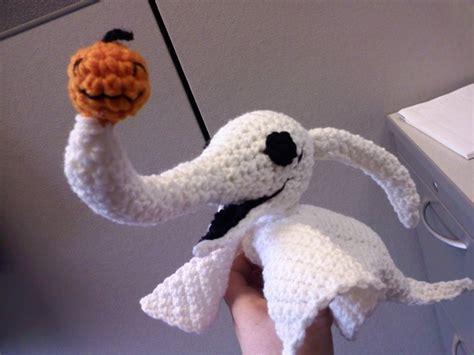 nightmare before christmas zero crochet pattern free crochet pattern zero the ghost dog yarnydoom com