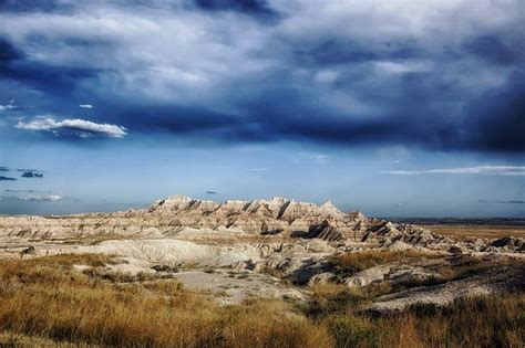 badlands south dakota landscape scenic mountains
