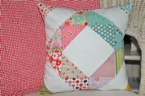 Patchwork Pillow Patterns - clover violet patchwork pillow pincushion and notion
