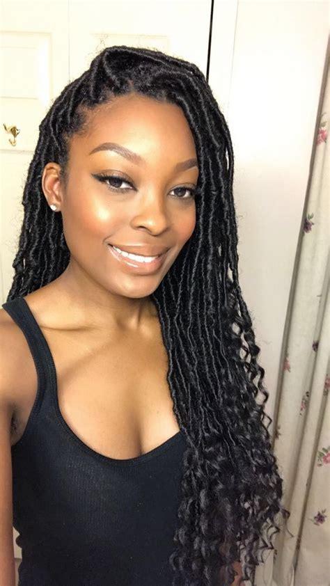 silky locks hair style gorgeous goddess locs styles tutorials insider tips