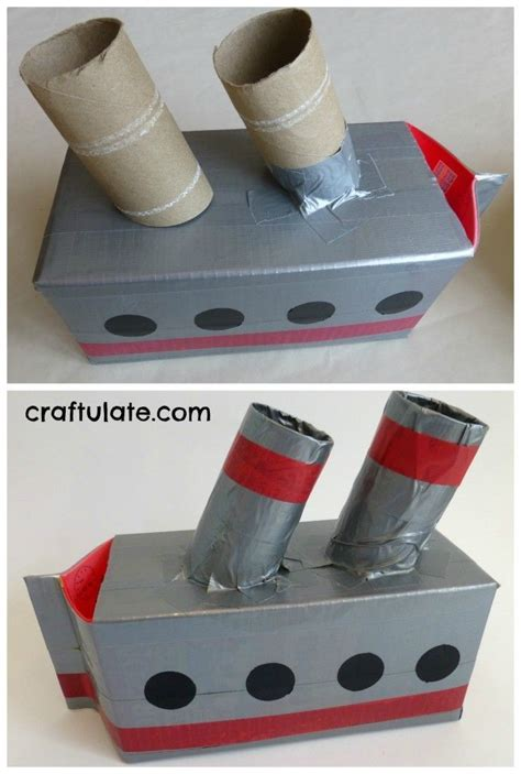 how to make a boat for school project 81 best box ideas for preschool images on pinterest