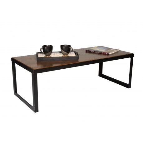 industrial chic coffee table quot belvidere collection quot living tp16768 proman products