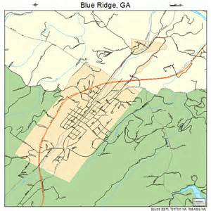 map of blue ridge blue ridge map 1308928