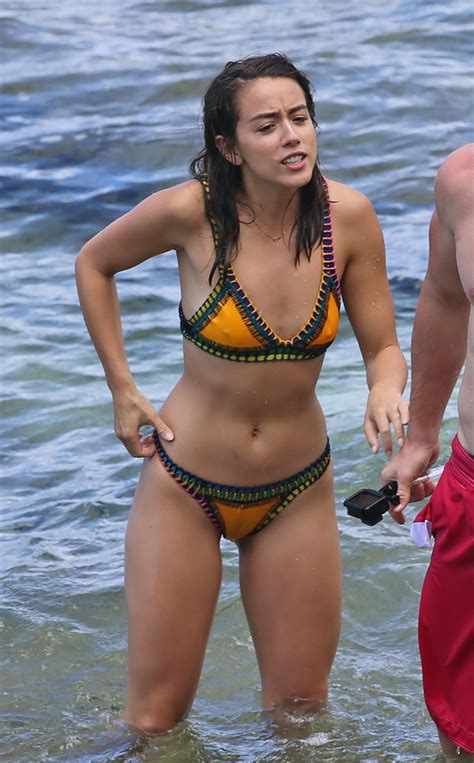 Chloe Bennet Pokies And Camel Toe Celebs