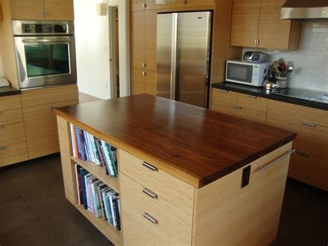Bamboo Kitchen Countertops Reviews by Bamboo Cabinets Fsc Walnut Countertops So Eco Savy And
