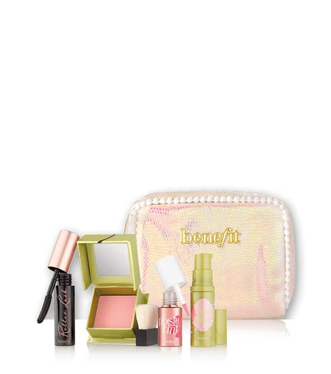 i pink i you baby pink brightening kit for complexion benefit cosmetics