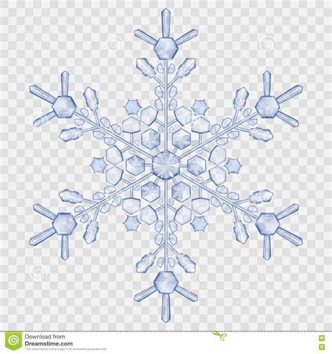 does eps format support transparency big translucent crystal snowflake stock vector image