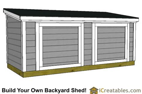 5x12 lean to shed plans 6