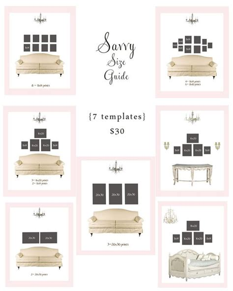 wall gallery template wall hanging templates space savers wall