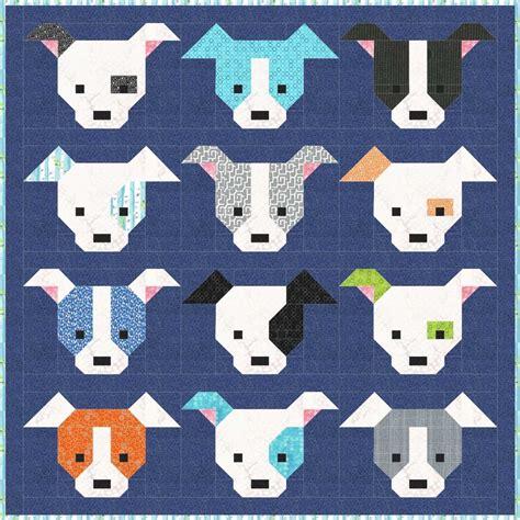 Puppy Quilt Pattern sew fresh quilts