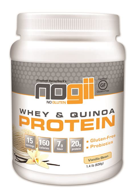 Protein Powder Giveaway - nogii whey quinoa protein powder giveaway cluttered genius
