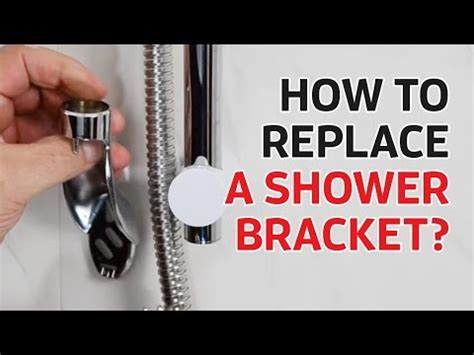 shower doctor tv how to replace a shower holder