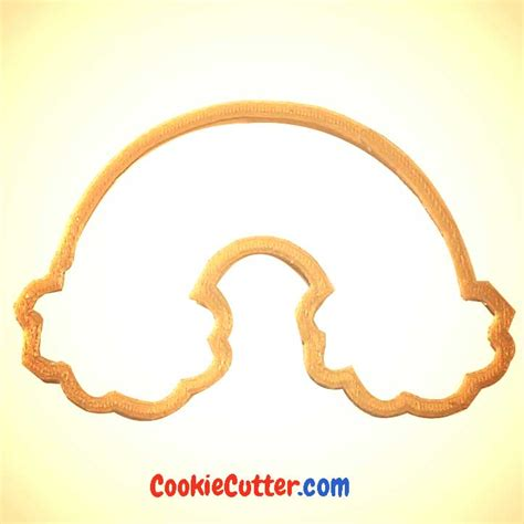 Cutter Rainbow by Rainbow With Clouds Cookie Cutter