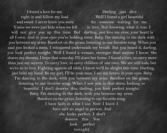 ed sheeran perfect en francais ed sheeran perfect lyrics words through music pinterest