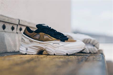 footwear white khaki land on the adidas x raf simons ozweego 3 kicksonfire