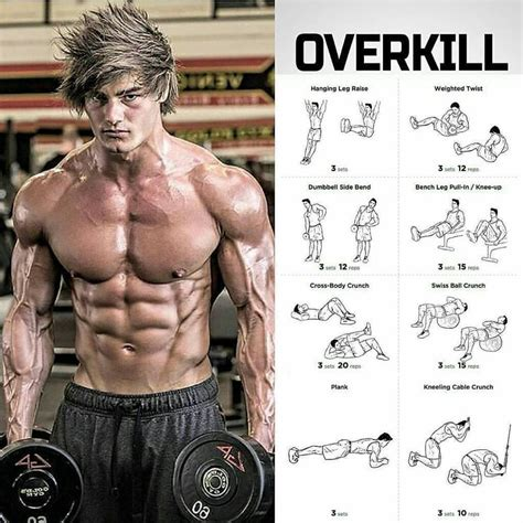 overkill abs workout weighteasylosscom fitness