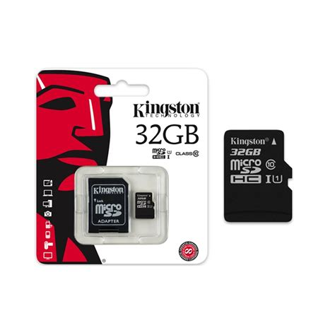 32 gb microsd memory card kingston