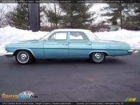 1962 chevrolet bel air 4 door sedan twilight turquoise