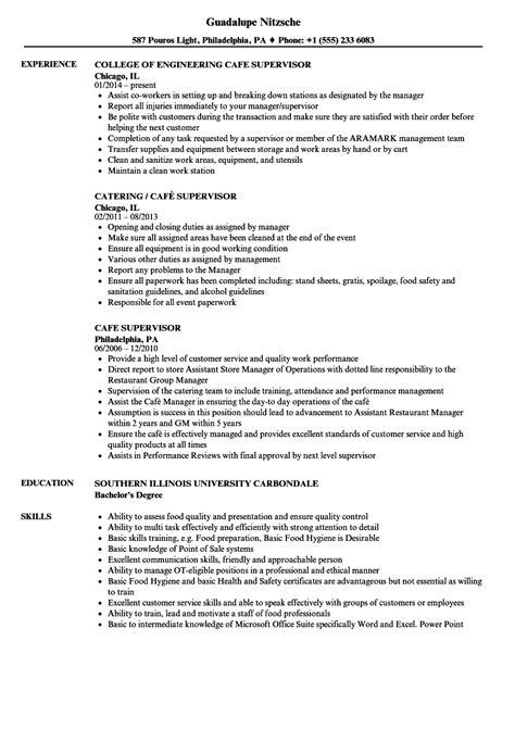 supervisor sample resume gse bookbinder co