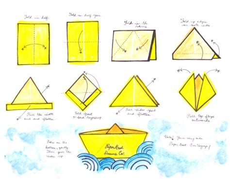 How To Make Paper Levitate - paper boats prairie state of mind
