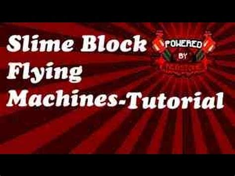 slime block tutorial cubehamster minecraft redstone tutorial slime block flying machines
