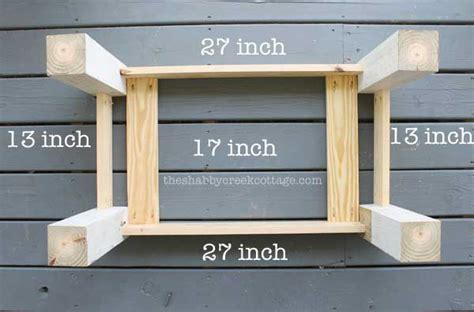 coffee table bench diy easy farmhouse style diy coffee table