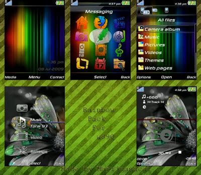 themes java down sony ericsson blog free download themes java pack